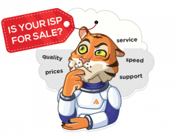 Is your ISP for sale?