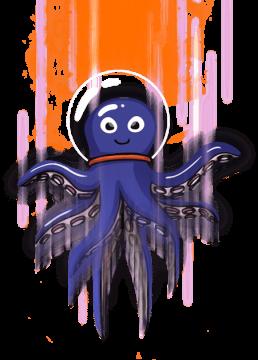 Octotel-Fibre-Mascot